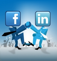 Facebook or LinkedIn to Land a Job